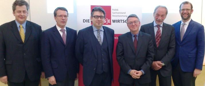v.l.n.r.: E. Meister, A. Rosenkranz, T. Czypionka, K. Forstner, M. Stickler, H. Sidak